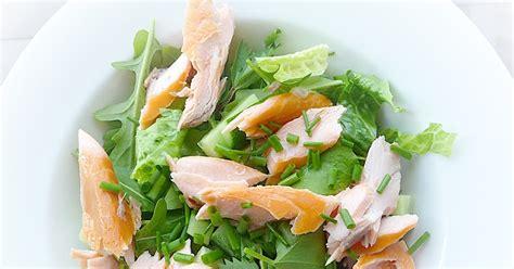 olive garden burnet lancashire food garden salad smoked salmon and