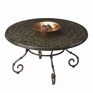 Shop butler specialty metalworks dark bronze metal round for Bronze metal coffee table