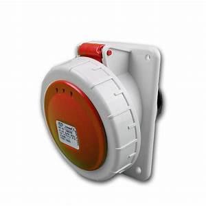 Cee Steckdose 32a : cee einbausteckdose ip67 32a rot steckdose ~ Watch28wear.com Haus und Dekorationen
