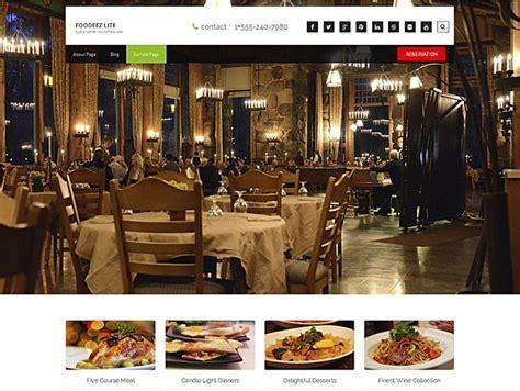 Wp Restaurant Themes 10 Best Free Responsive Restaurant Theme 2016