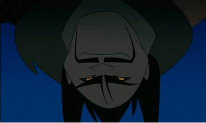 Disney Villains Villain Yu Shan Scared Bad