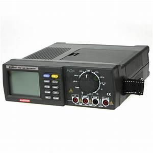 MASTECH MS8040 Digital Auto Ranging Multimeter Desktop AC ...