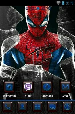 amazing spider man android theme   launcher