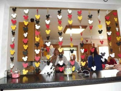 Mickey Mouse Birthday Decoration Ideas