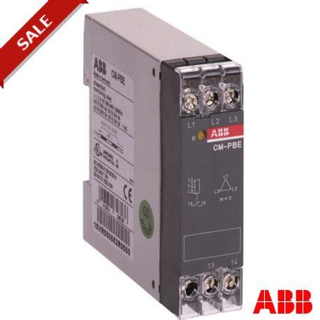 cm pbe 1svr550882r9500 abb cm pbe phase loss monitoring re