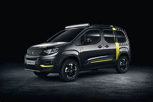 Peugeot Rifter Interieur : 2018 peugeot rifter 4x4 is a turbo diesel powered concept ~ Dallasstarsshop.com Idées de Décoration