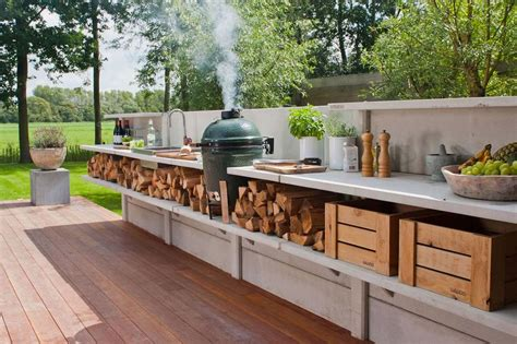 designing an outdoor kitchen wwoo outdoor kitchen is truly a wow treehugger 6664