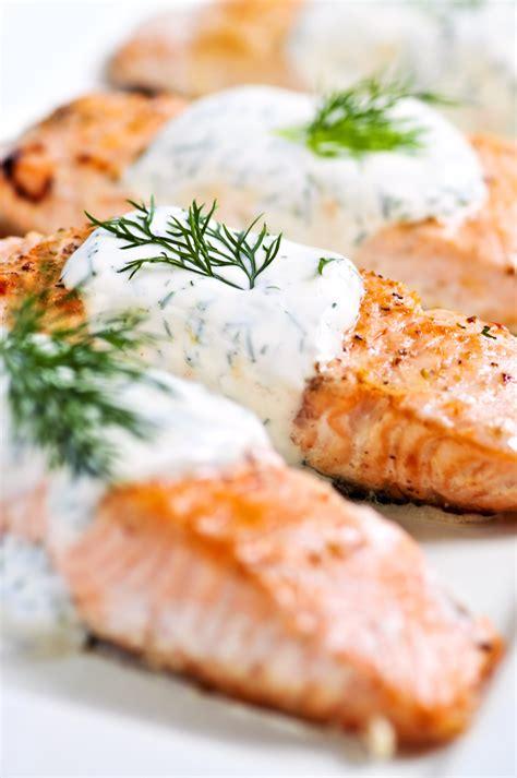 salmon  creamy dill sauce recipe bigoven