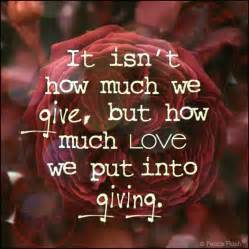 quotes about gift giving quotesgram