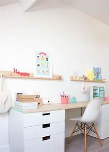 Bureau Ikea Enfant : d co bureau enfant peekitmagazine ~ Nature-et-papiers.com Idées de Décoration