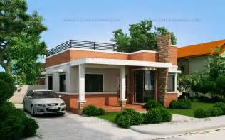 Home Design Gallery - rommell one storey modern with roof deck eplans modern house designs small house