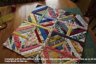Quilt String Blocks Quilting Sashing Quilts Tutorial