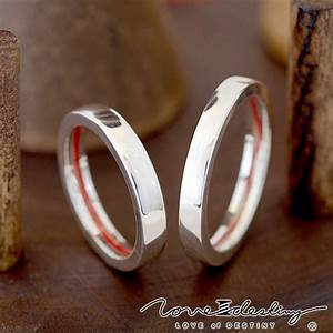 red string of fate ringsthink is a really sweet idea With red string of fate wedding rings