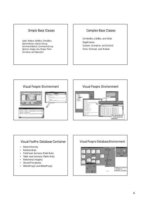 Free Download Ebook Visual Foxpro 9.0