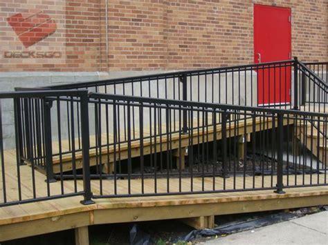 aluminum railing   access ramp