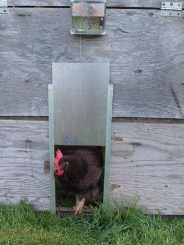 automatic chicken coop door automatic chicken coop door opener by cheeper keeper
