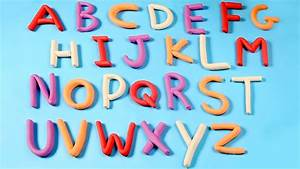 play doh alphabets play doh abc a z letters a to z With play letters