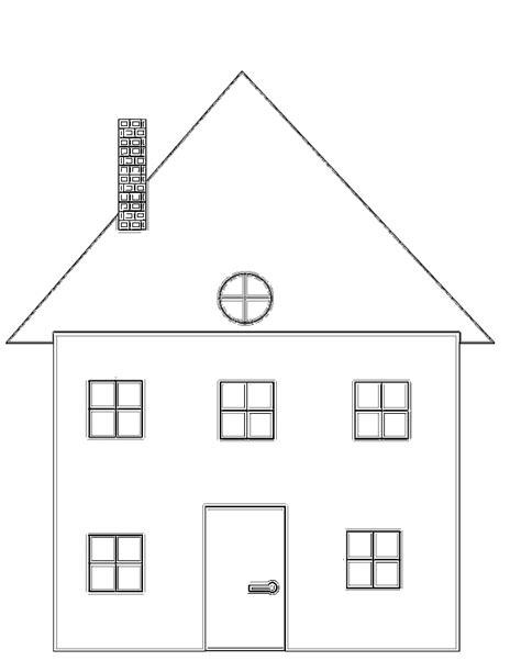 coloriage maison 224 imprimer gratuitement