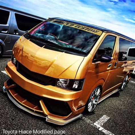 narrow mirror toyota hiace modified