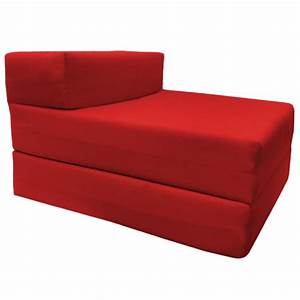 Single fold out block foam z bed sofabed guest chair bed for Fold out sofa bed for sale