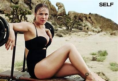 Rousey Ronda Magazine Self Bikini November Photoshoot