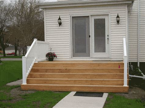 door deck ideas liking the wide step idea for back door leading to platform deck patio deck ideas pinterest