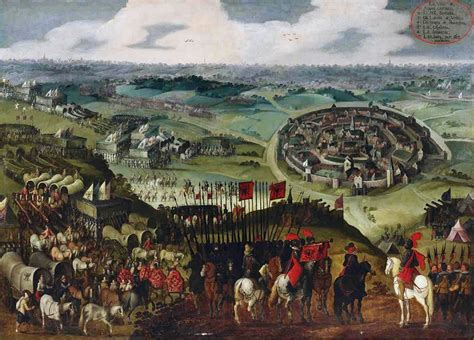 siege city siege of aachen 1614