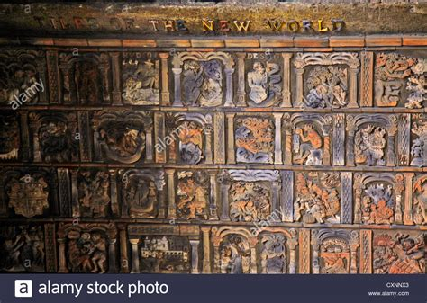 moravian tile works moravian pottery tile works in doylestown pa stock photo