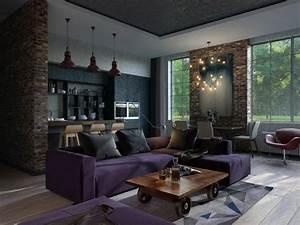 Couchtisch Mit Rädern : die besten 25 loftwohnungen ideen auf pinterest industrie loft wohnung studio loft ~ Sanjose-hotels-ca.com Haus und Dekorationen