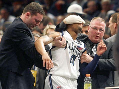 gruesome injuries  sports history bleacher