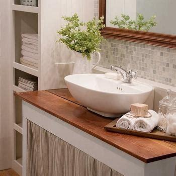 pedestal sink with built in backsplash vintage sink with built in backsplash design ideas