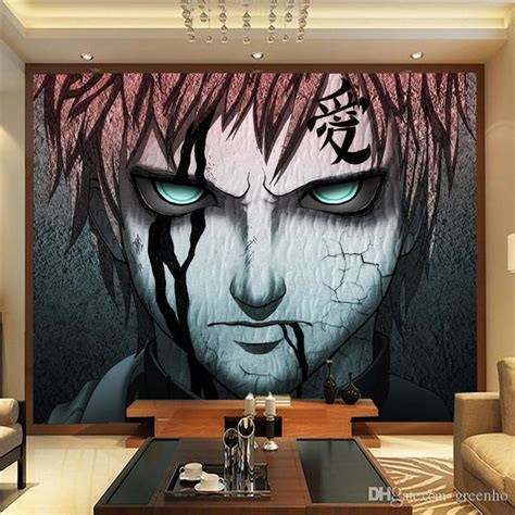 Anime Wallpaper Design - japanese anime photo wallpaper gaara wall mural