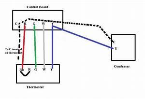 Thermostat  U0026 Hvac C-wire Setup
