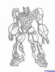 Bumble Bee Transformer Coloring Page - AZ Coloring Pages