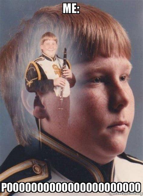 Clarinet Kid Meme - me poooooooooooooooooooooo ptsd clarinet boy make a meme