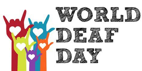 world deaf day printable calendar templates