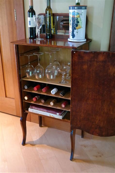 dining room fill  home  antique liquor cabinet