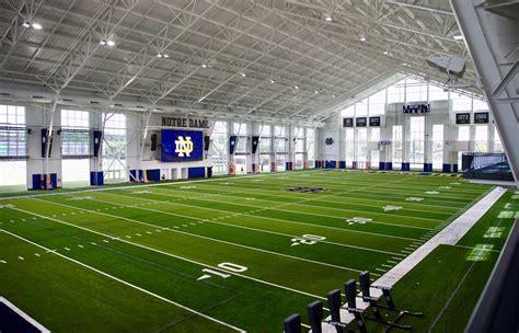 Notre Dame Opens News Indoor Football Facilities