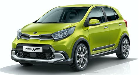 kia picanto debuts  europe  updated styling