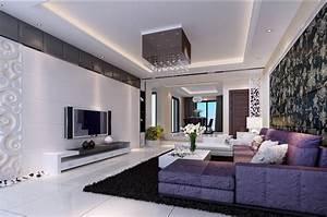 fancy purple living room decor in decorating home ideas With living room home decor ideas 2