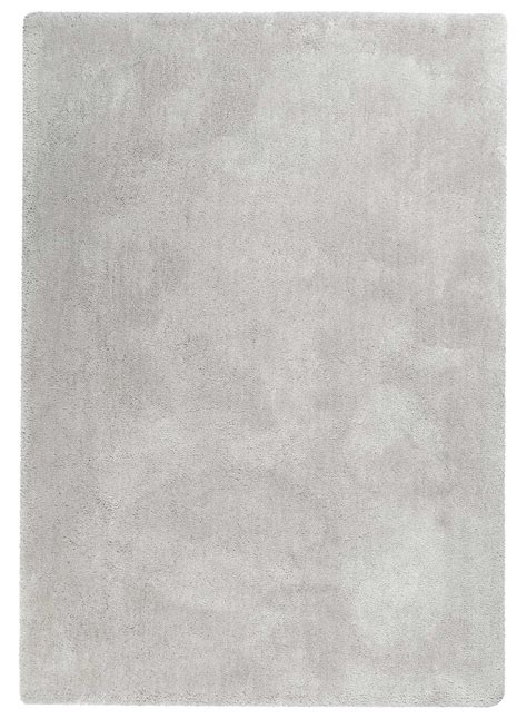 tapis moderne shaggy relaxx gris clair