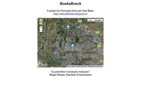 Beppe Sebaste Panchine by Booknbench Un Libro E Una Panchina