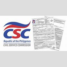Application Form For Civil Service Exam  Civil Service Exam Ph