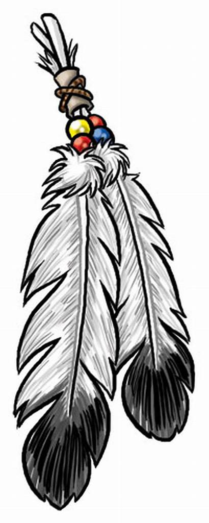 Tattoos Native Eagle Feathers Clip Stencil Tattoo
