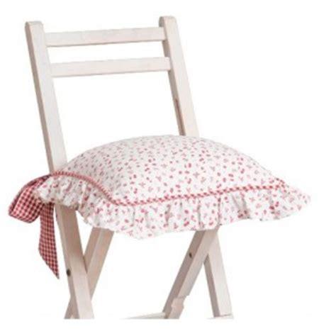 galette de chaise lavable galette chaise coton fraises