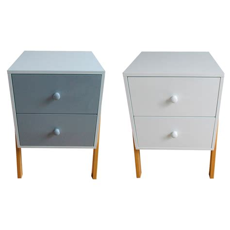 retro bedside table ls retro style bedside table grey or white savvysurf co uk