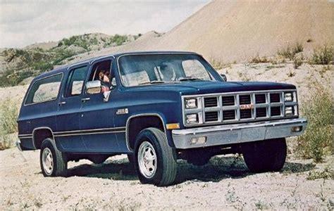 Chevrolet Suburban History Generation 8 1981 1991