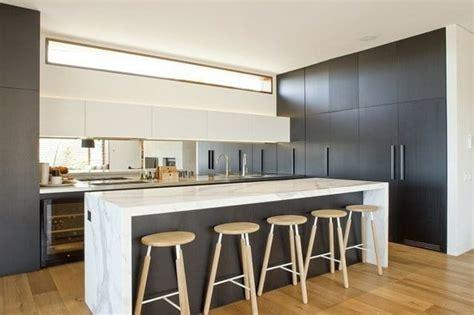 dep en cuisine cuisine moderne bois clair