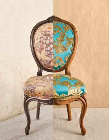 How To Reapolster A by Diy Friday How To Reupholster A Louis Xvi Chair