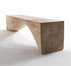 Curve Bench - Riva 1920 @ Wood-Furniture biz